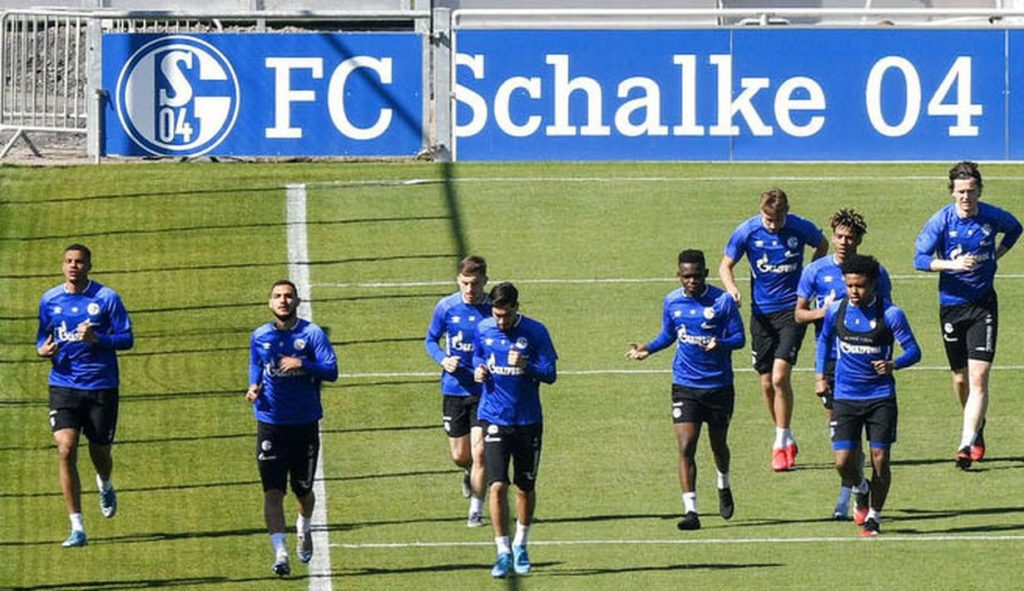 Pertandingan Bundesliga Jerman Union Berlin melawan Schalke 04